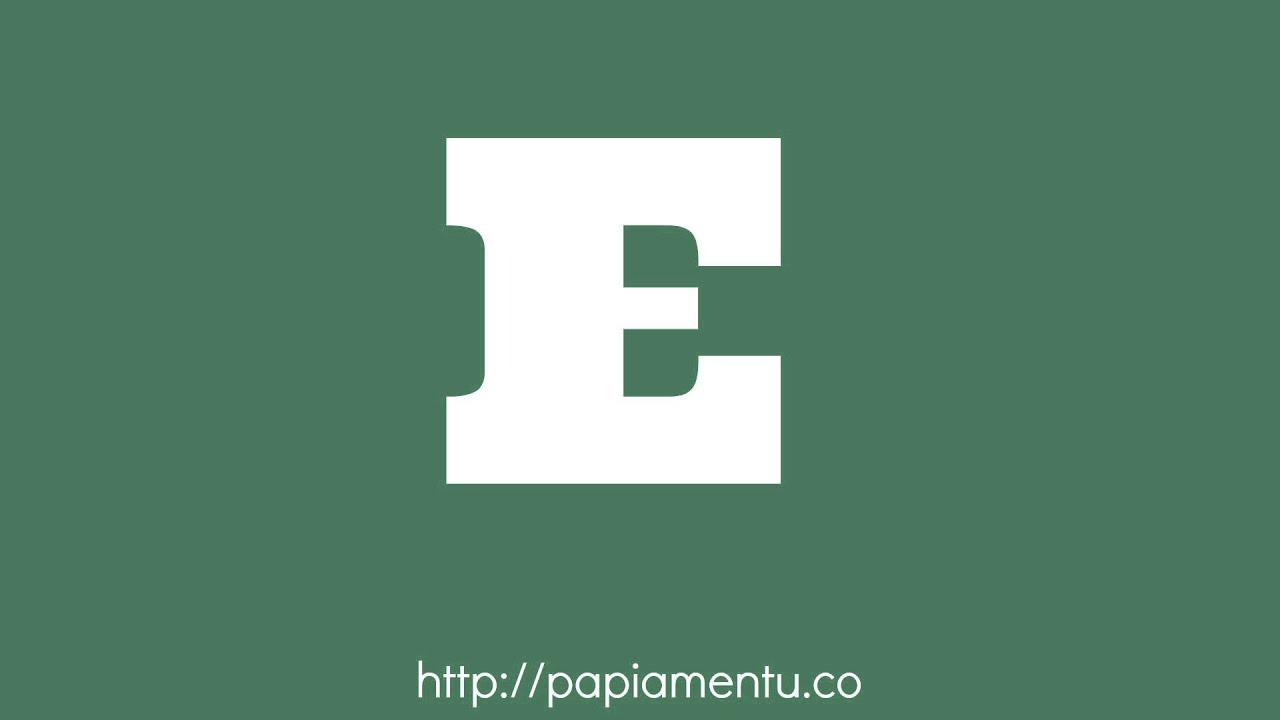Zo Spreek Je 'E' (Hij of Zij) Uit In Papiamentu