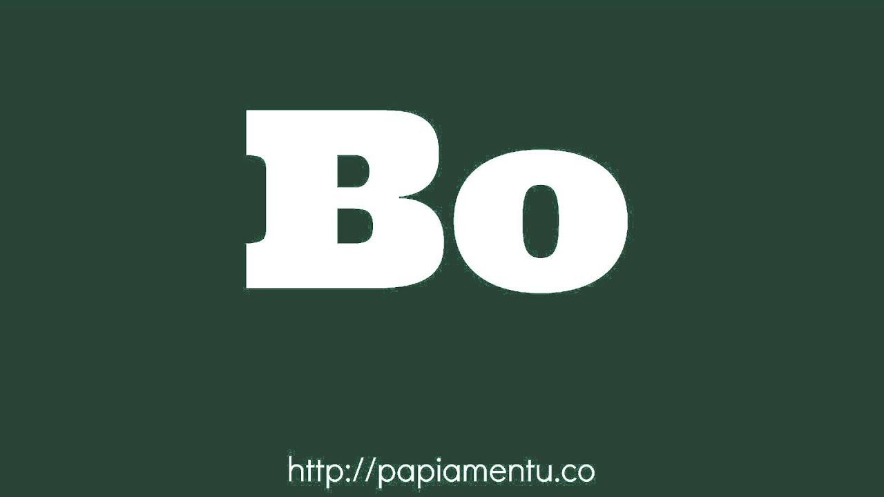 Zo Spreek Je 'Bo' (Jij) Uit In Papiamentu