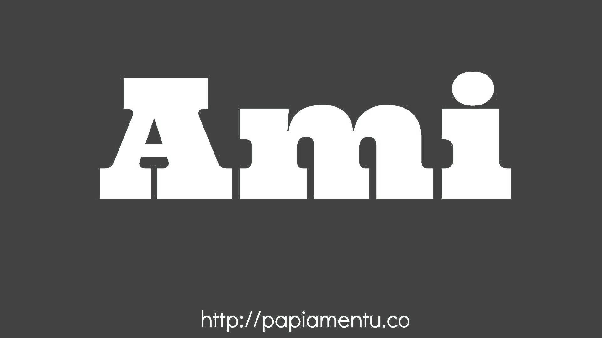 Ami - Zo zeg je Ik in Papiamentu