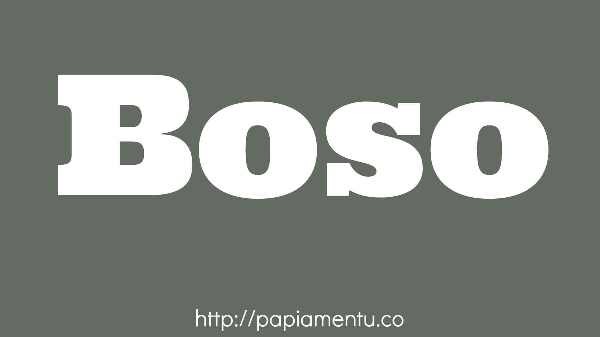Zo Spreek Je 'Boso' (Jullie) Uit In Papiamentu