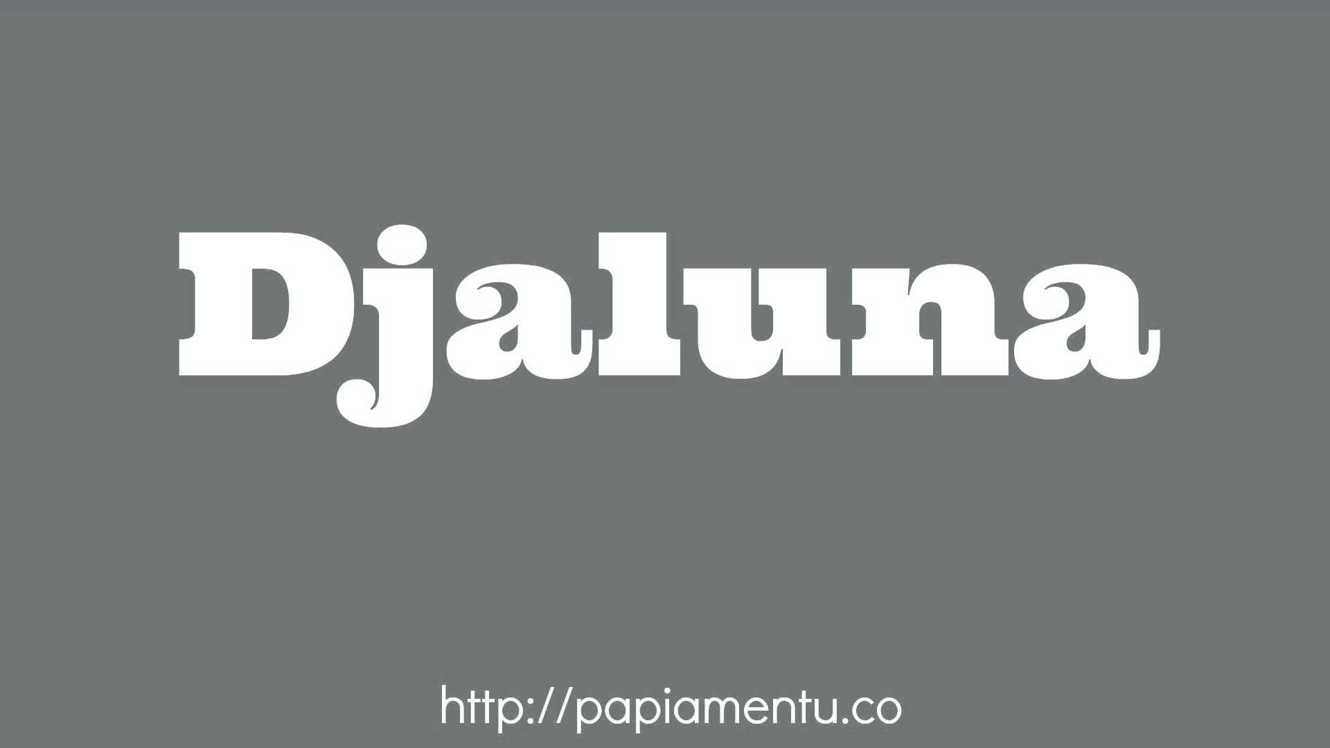 Zo Zeg Je Djaluna (Maandag) In Papiamentu