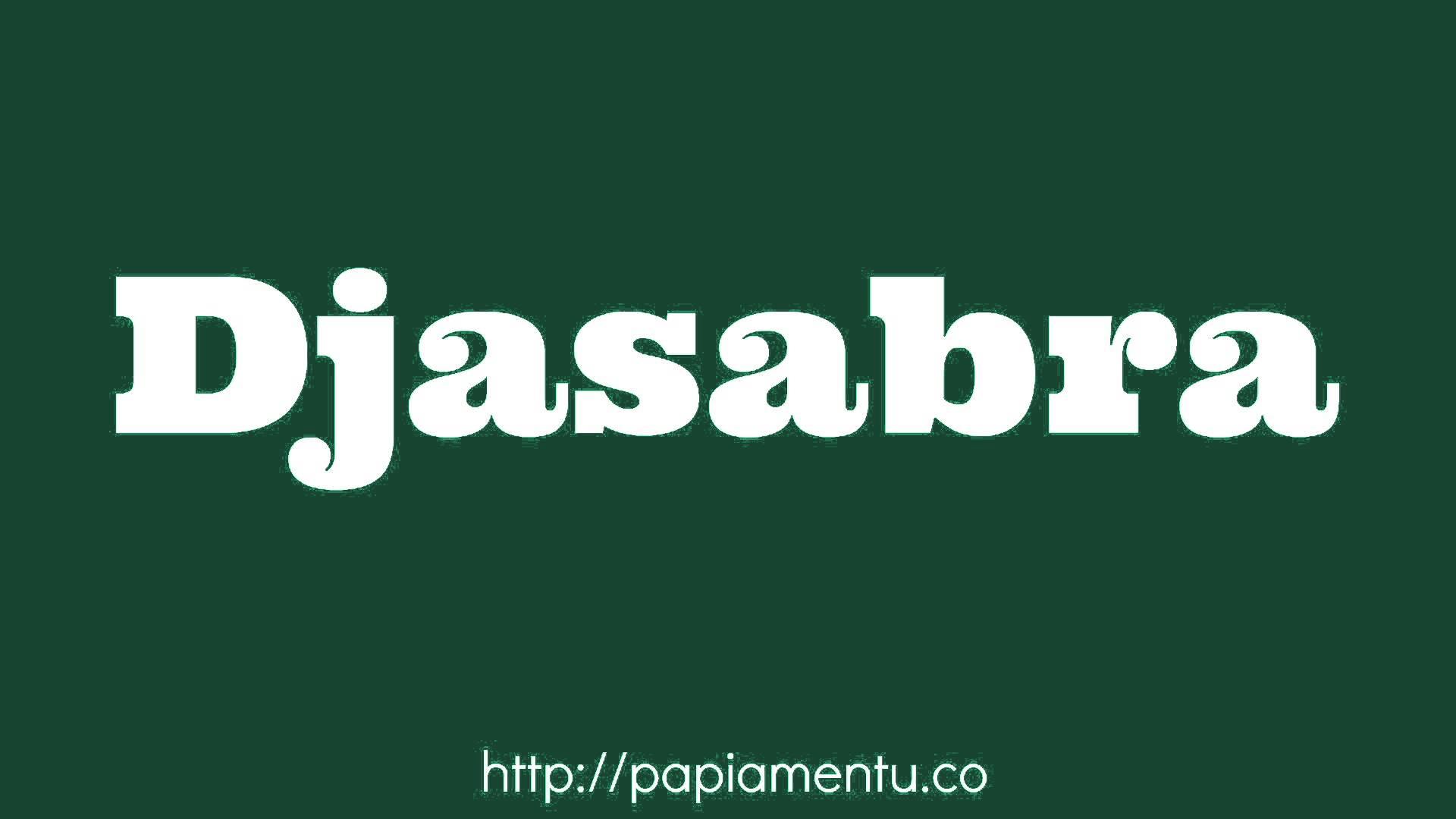 Zo zeg je Djasabra (Zaterdag) In Papiamentu