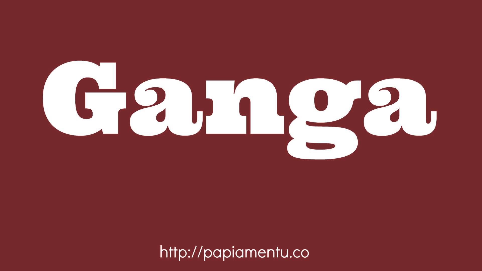 Ganga - Zo zeg je koopje in Papiamentu
