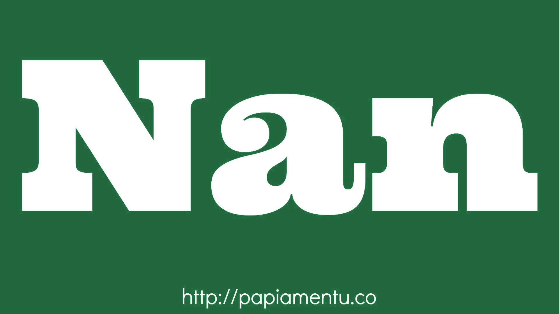 Zo Spreek Je 'Nan' (Zij) Uit In Papiamentu