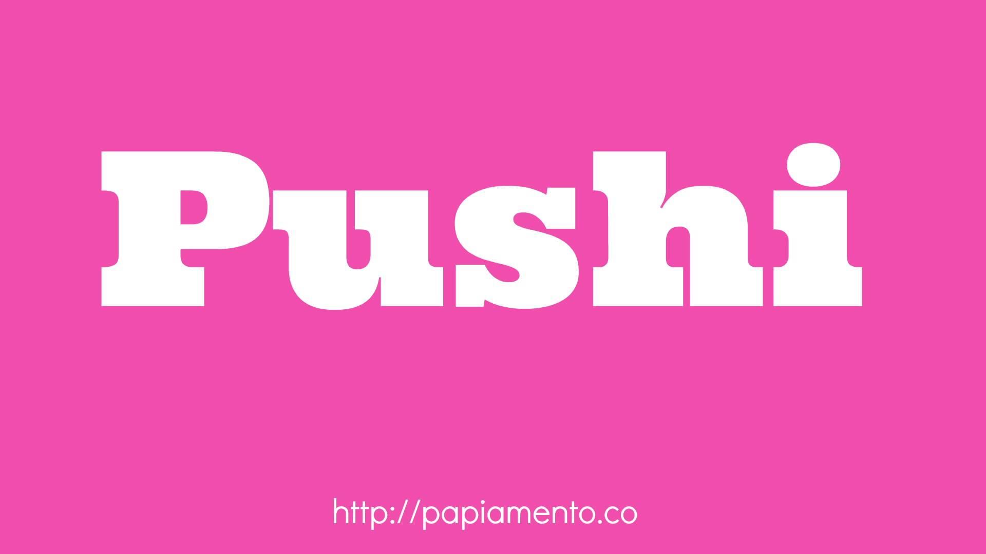 Zo Zeg Je Poes (Pushi) In Papiamentu