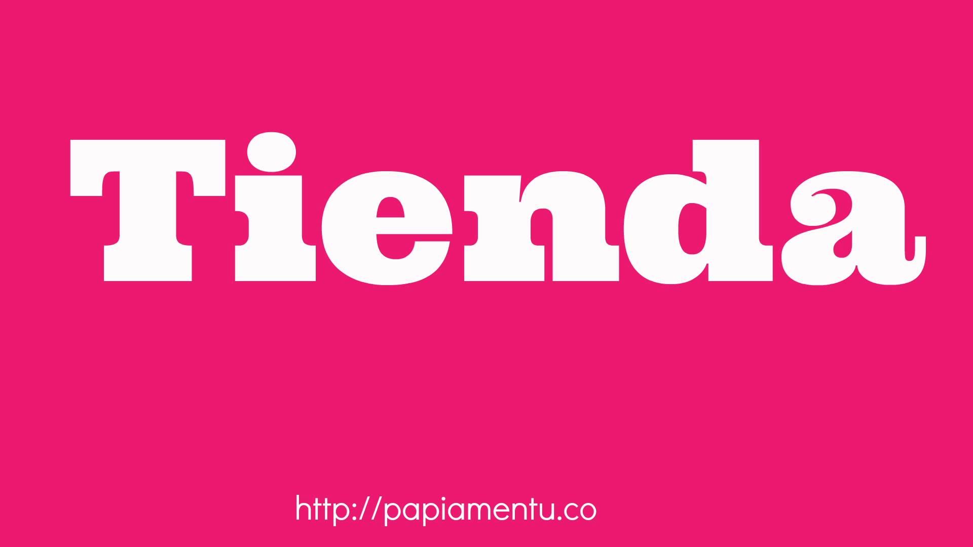 Tienda - Zo zeg je winkel in Papiamentu