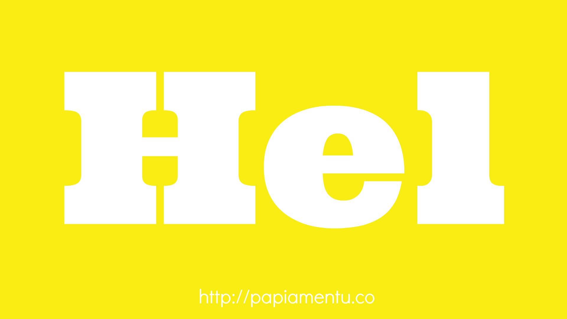 Zo zeg je geel in papiaments - Papiamentu.co
