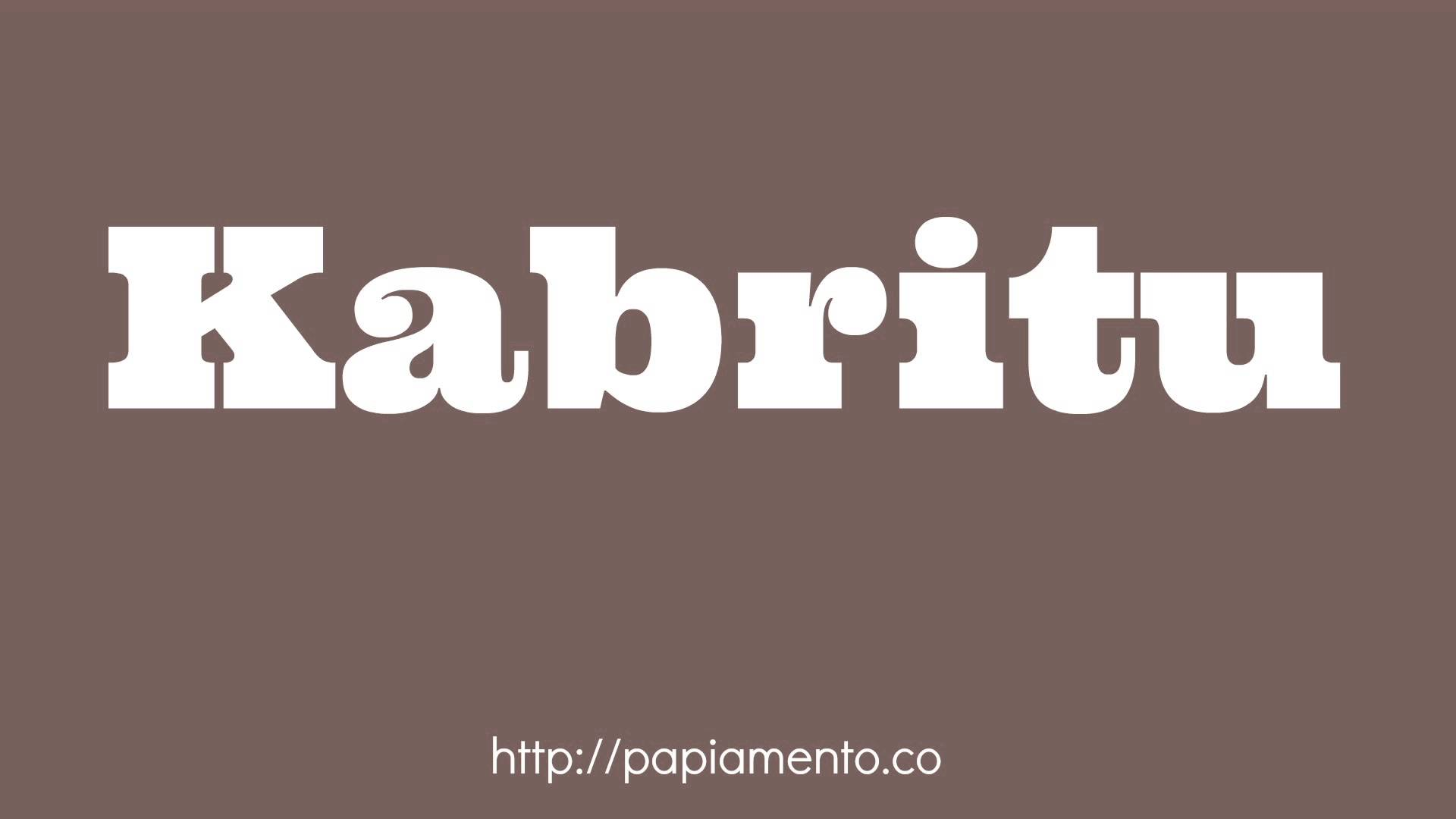 Zo zeg je Geit (kabritu) in Papiamentu - papiamentu.co