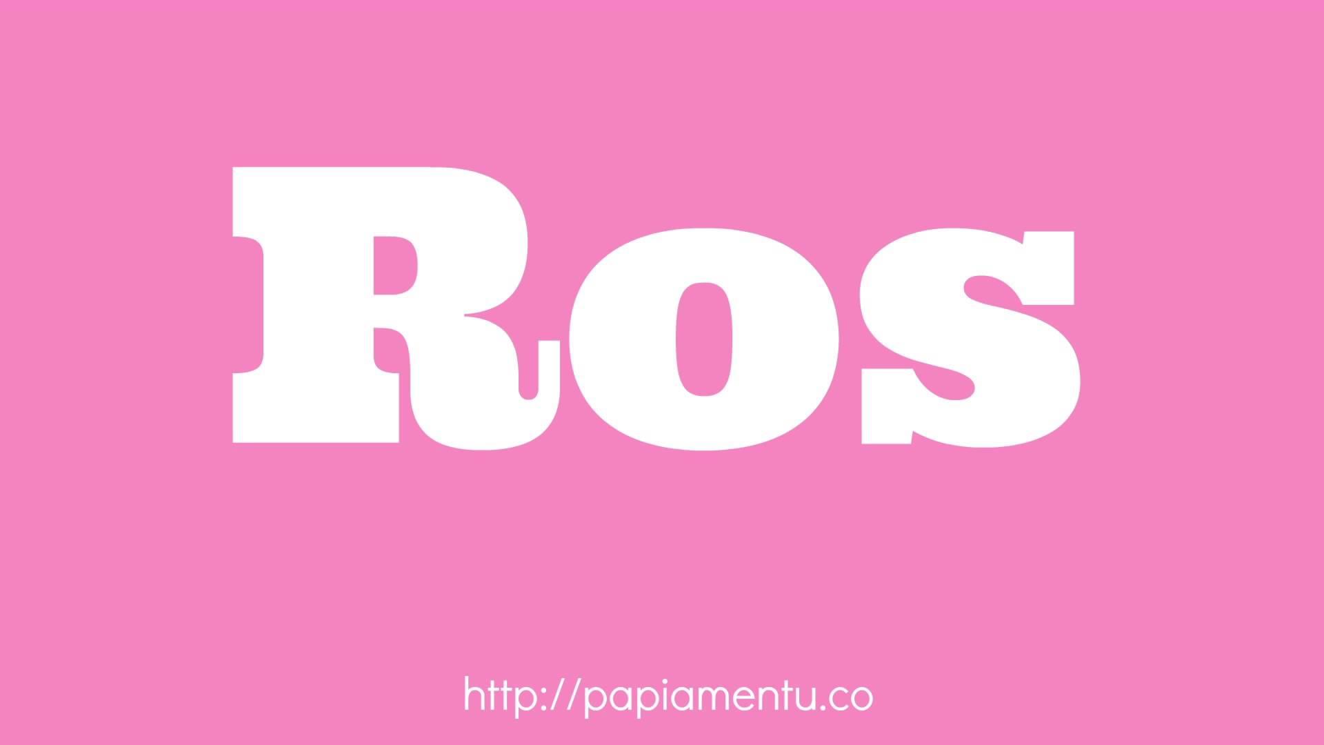 Zo zeg je roze in Papiaments - Papiamentu.co